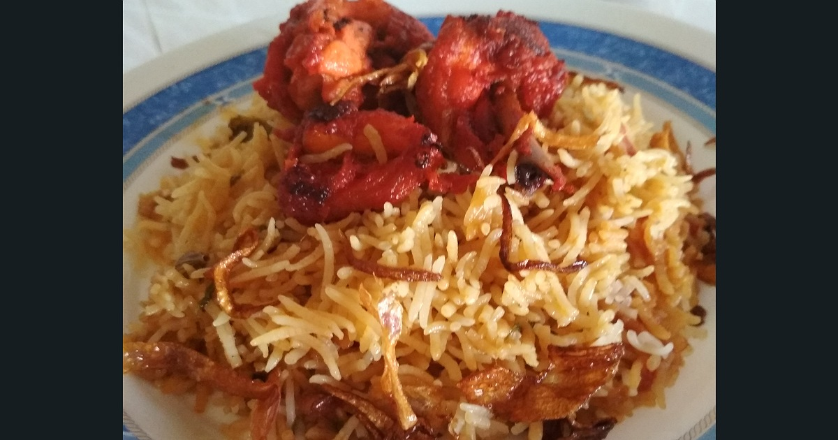Chicken 65-Biryani recipe
