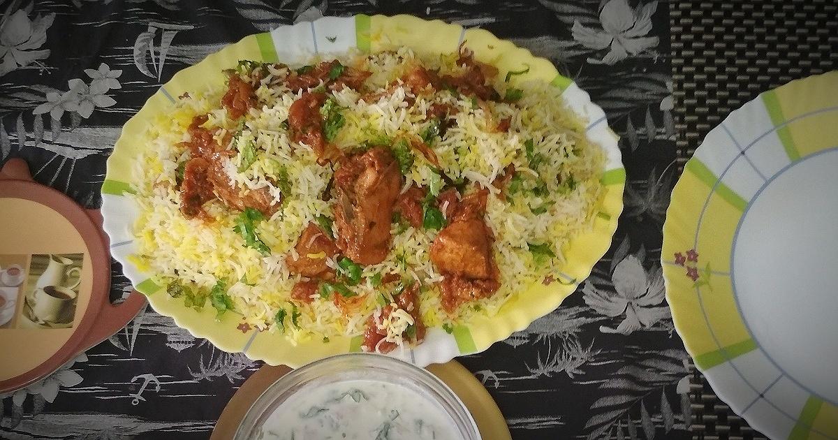 Hyderabadi Chicken Biriyani Recipe