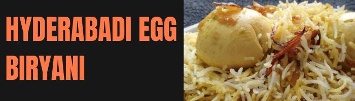 Hyderabadi Egg Biryani